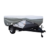 14' - 16' Folding RV Trailer Cover Grey/Snow White, 80-041-173106-00