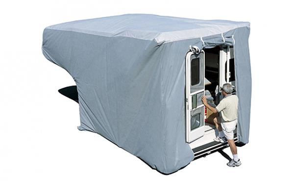 10' - 12'  RV Cover For Truck Campers Grey, 12263