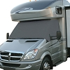 RV Windshield Cover Grey