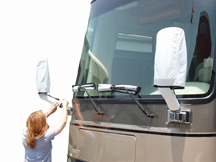 Set of 2 Mirror And Wiper Blade Covers For Class A Bus, 2478