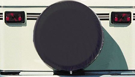 28' Diameter Spare Tire Cover Black, 1736