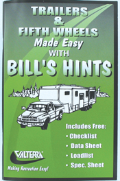 Trailers and Fifth Wheels Made Easy with Bill's Hints, A02-2000