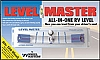 LEVEL-MASTER ALL IN ONE RV LEVEL WITH BRACKET BY WHEELMASTER # 6780