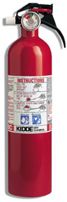 Fire Extinguisher - 10BC with guage