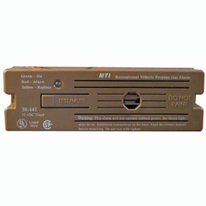 Safe-T-Alert 30-441-P-WT White Surface Mount Propane Gas Alarm