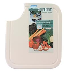 Plastic Cutting Board White, 43857