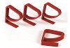 4pk Tablecloth Clamps Red, 44003