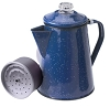 2 Qt Blue Enameled Percolator, 15154