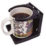 Foldable Cup Holder Black, 45619