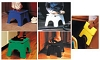 6pk Assorted E-Z Foldz Stool