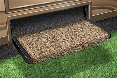 Prest-o-Fit Entry Fit Rug  20 Inch Brown