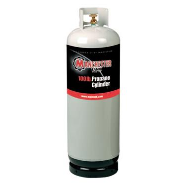 100lb Propane Tank Without Gauge, 1428