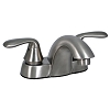 Two Handle Lavatory Hi-Arc Spout Brushed Nickel