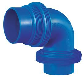 90 degree Sewer Hose Connector, 1-0001