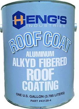 1gal Roof Coating Fibered Aluminum, 43128-4