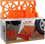 Wheel Chock' R Dock Orange, 00030