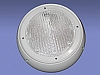 ADJUSTABLE  SECURITY/UTILITY LIGHT-WHITE BY FASTENERS UNLIMITED # 007-46W
