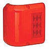Bargman Wrap Around Light Red with Black Base, 34-86-202