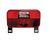 Series 92 Tail Light with Backup and License Plate Bracket with Black Base (#30-92-109) by Bargman