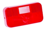 Replacement Trailer Light Lens Red, 34-92-713