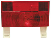 Stop-Tail-Turn Light with License Plate Bracket Peterson V25913