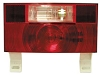 Stop-Turn-Tail Light with License Bracket and Back Up Light, Peterson V25914