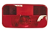 Red Replacement Lens Tail Light, V25921-25