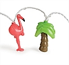 Party Lights, Palms and Flamingos, 42662