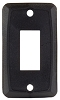 Single Switch Plate Black, 12855