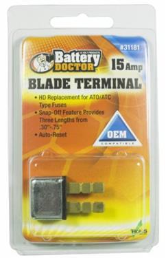 1 per pack 15 Amp Auto-Reset ATC//ATO Blade-Style Circuit Breakers