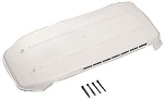 Refrigerator Vent Cover Old Style Polar White, 65529