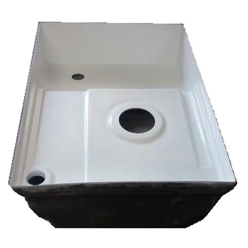 Transvan Rv Fiberglass Shower Pan Toilet Mount Tank Combo