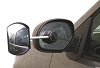 Drivers Side Suction Mount Exterior Towing Mirror, 25663