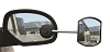 Passenger Side Suction Mount Exterior Towing Mirror, 25668