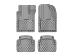 WeatherTech All Vehicle Mats, 4 Piece Grey, 11AVMSG