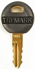 TriMark Key One Plus #2001 (for 60-460 Baggage Door Locks)