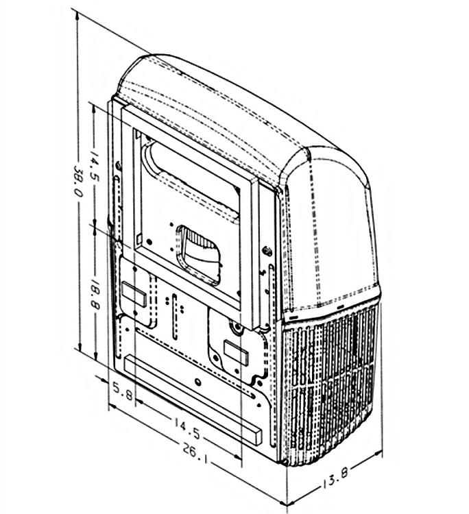 Coleman Mach 8 Air Conditioner 15,000 BTU without heat pump