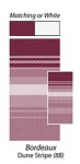 16' Bordeaux Dune Stripe Replacement Fabric, JU168B00