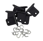 Awning Accessory Hangers - Black - Package of 6