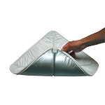 Interior Roof Vent Cover White/Silver, 7172