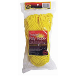 100' Polyester Rope Yellow, 118790
