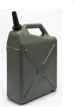 6gal Water Storage Container Green, 8580-43C