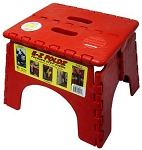 E-Z Foldz Step Stool Red, 101-6R