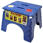 E-Z Foldz Step Stool Blue, 101-6B