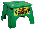 E-Z Foldz Step Stool Green, 101-6G