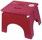 E-Z Foldz Step Stool Burgundy, 101-6BURG