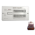 Safe-T-Alert Gas Leak Detector with Shut Off Kit 70-742-P-R-WT-KIT