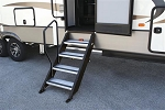 StepAbove Entry Step Hand Rail, Use with StepAbove 3 Step, STP214-029H