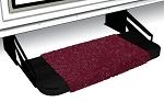 Wraparound Step Rug Burgandy Wine,  	2-1044