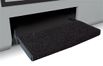 Prest-o-Fit Entry Fit Rug 23 Inch Black
